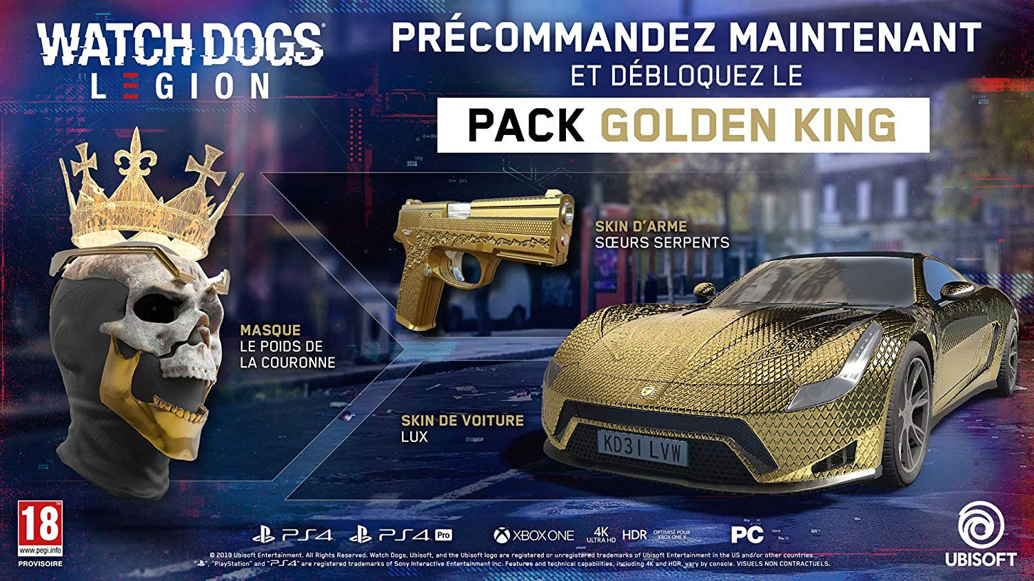 Précommander Watch Dogs Legion