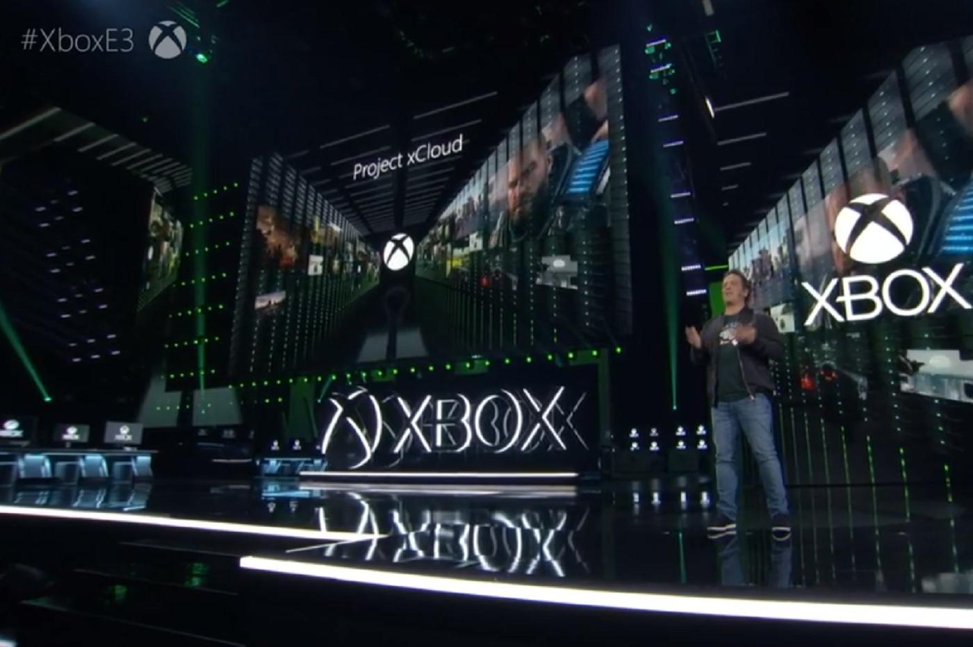 xCloud durant la conférence xBox à l'E3