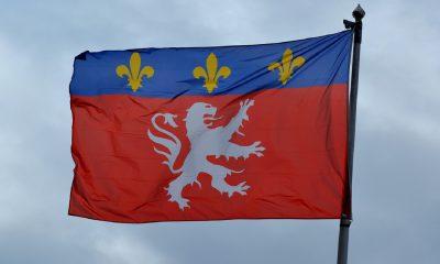 Le drapeau de Lyon