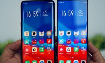 Le smartphone borderless d'Oppo