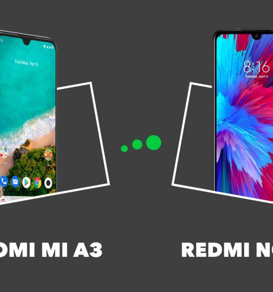 Xiaomi Mi A3 vs Redmi Note7