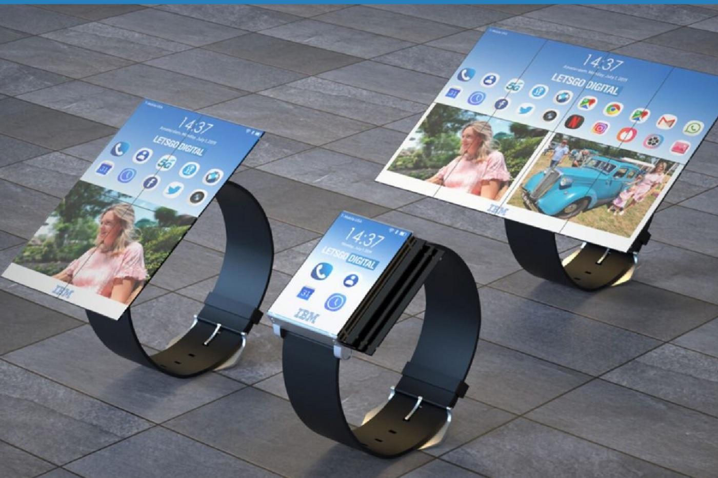 Une smartwatch qui se déplie en smartphone ? Voici à quoi cela ressemblerait