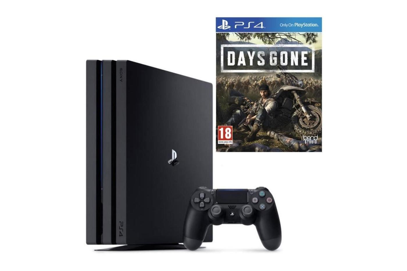 Soldes PS4 Pro