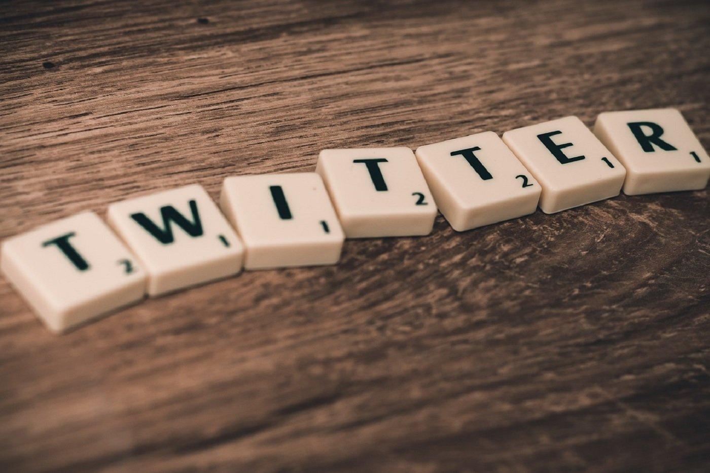 Twitter et scrabble