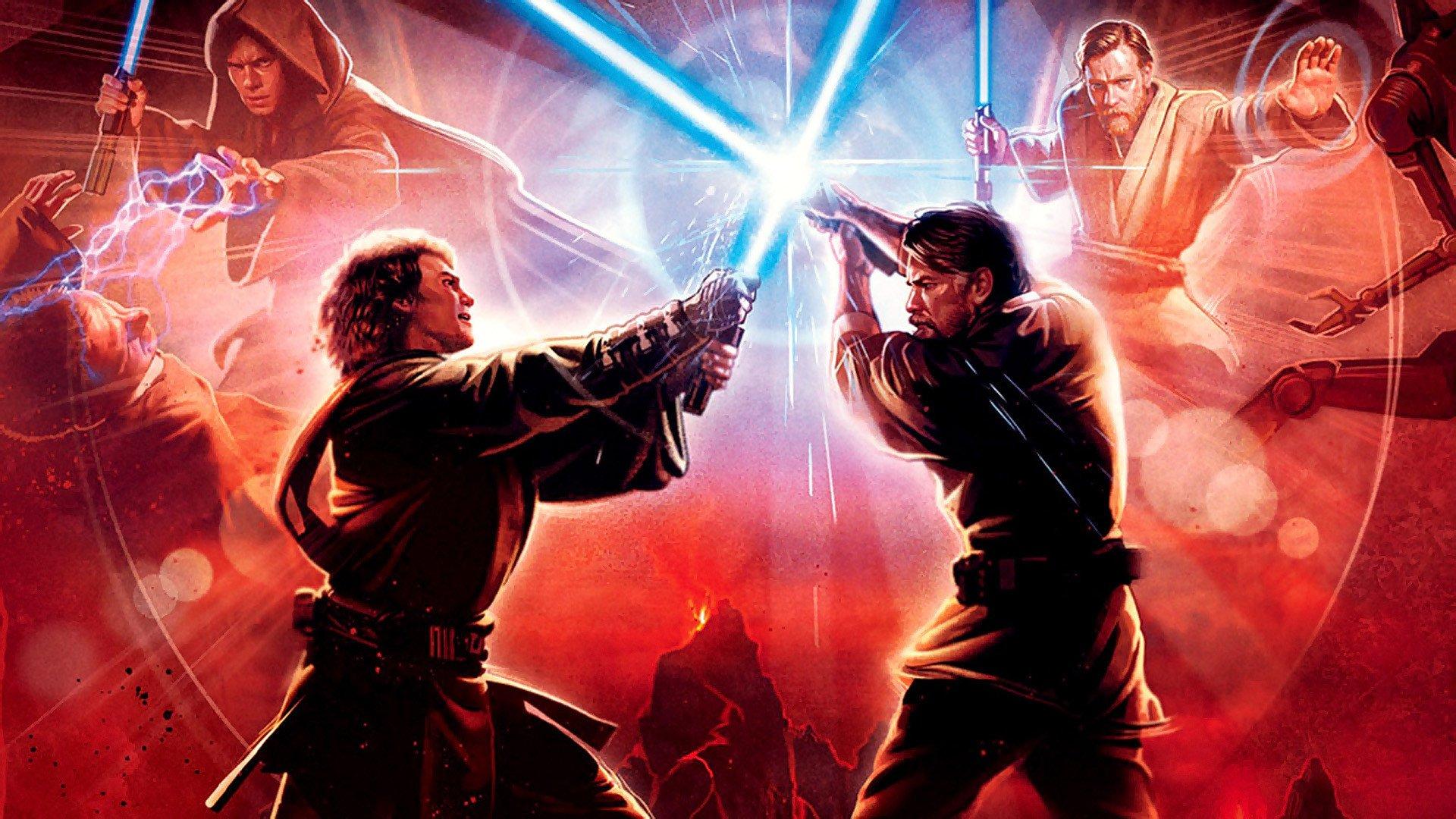 Wallpaper Star Wars III Revanche des Siths