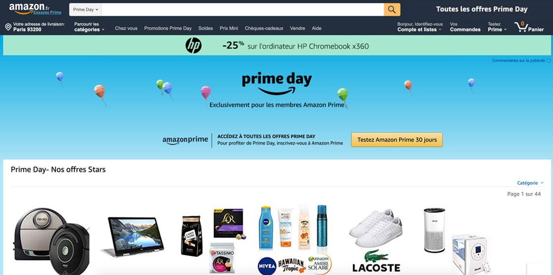Amazon Prime Day : quand du matériel photo à 13 000 dollars est vendu… 500 dollars