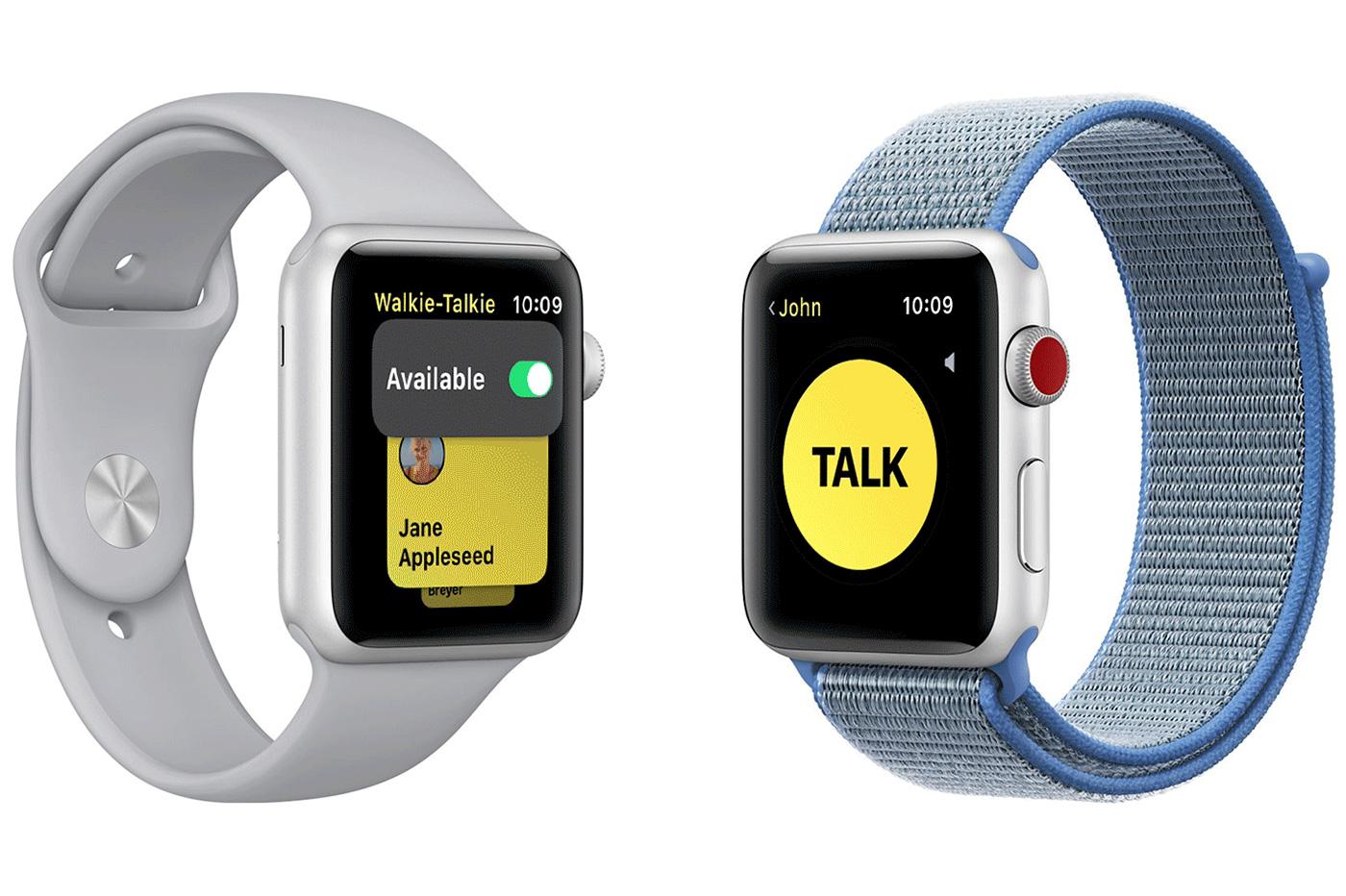 Apple Watch Talkie-Walkie