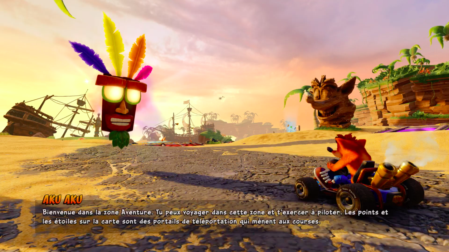 CTR Nitro Fueled Mode Aventure