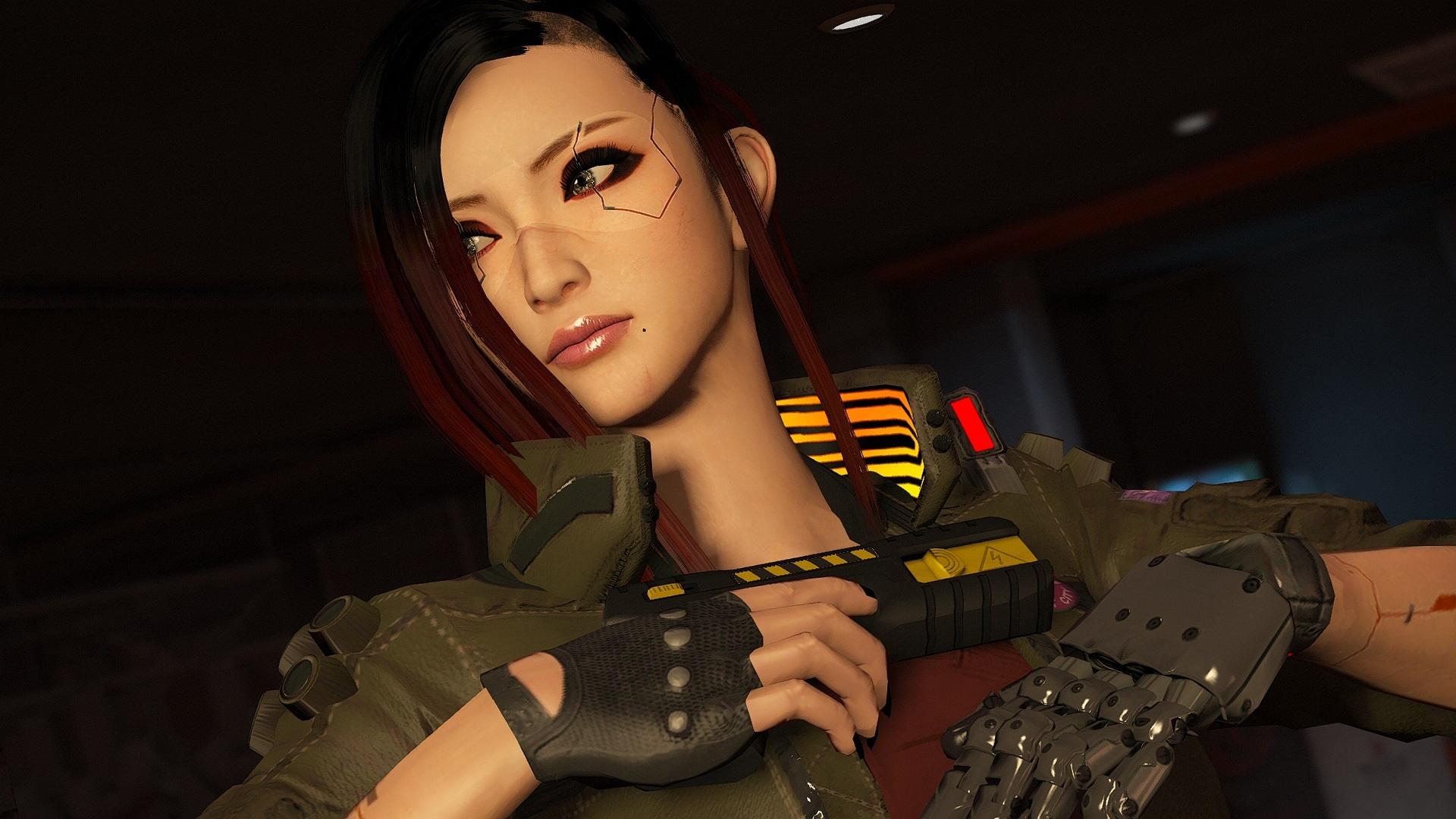 Cyberpunk 2077 Personnalisation Personnage