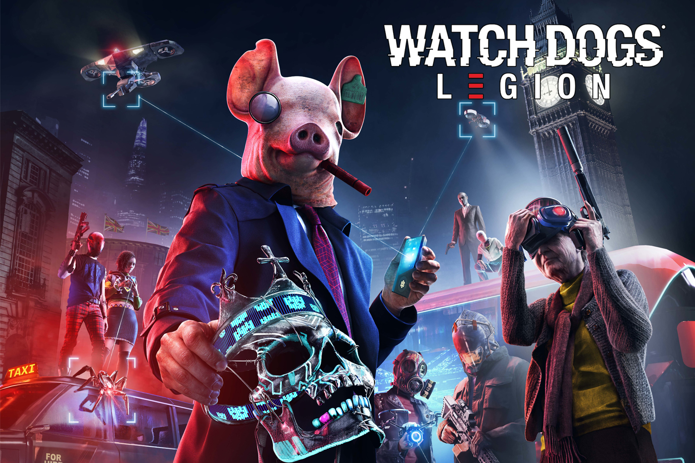 E3 2019 Aperçu Watch Dogs Legion