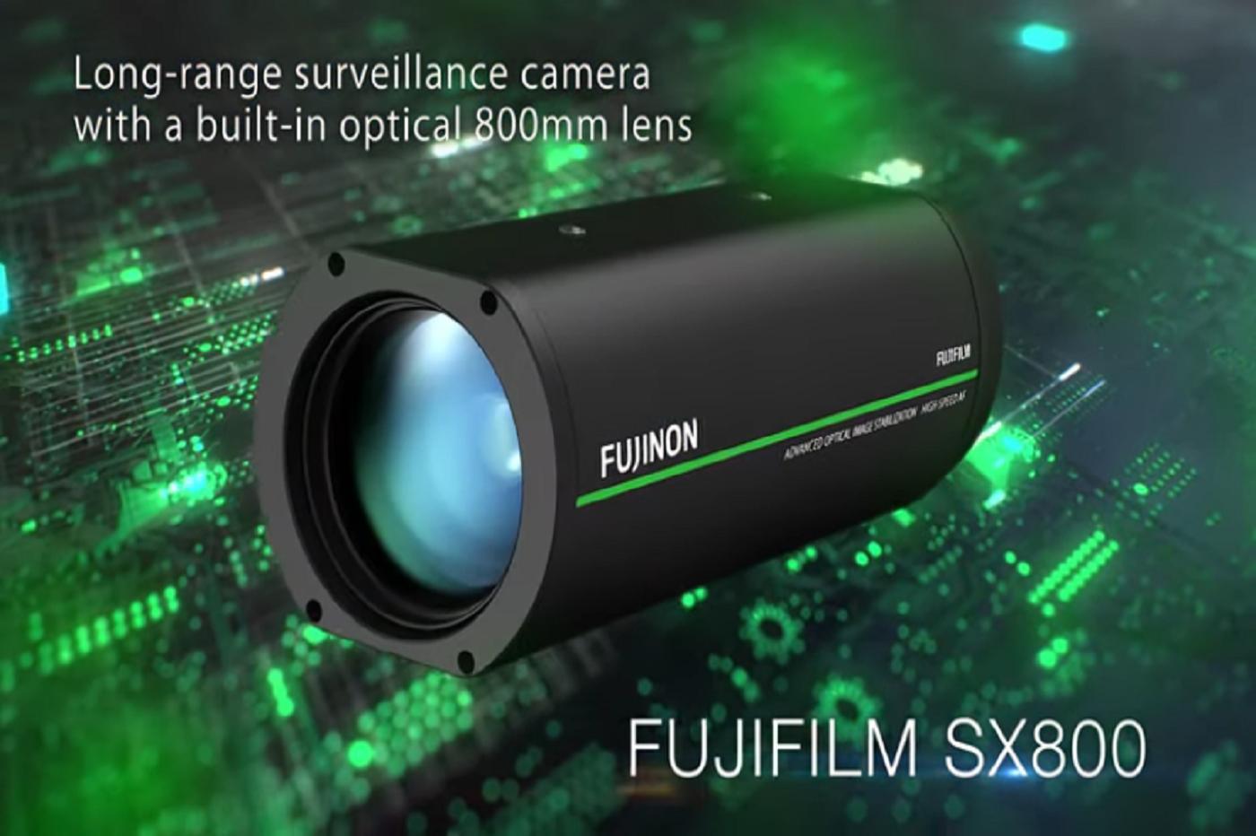 Fujifilm sort une caméra qui peut distinguer une plaque d'immatriculation située à un kilomètre