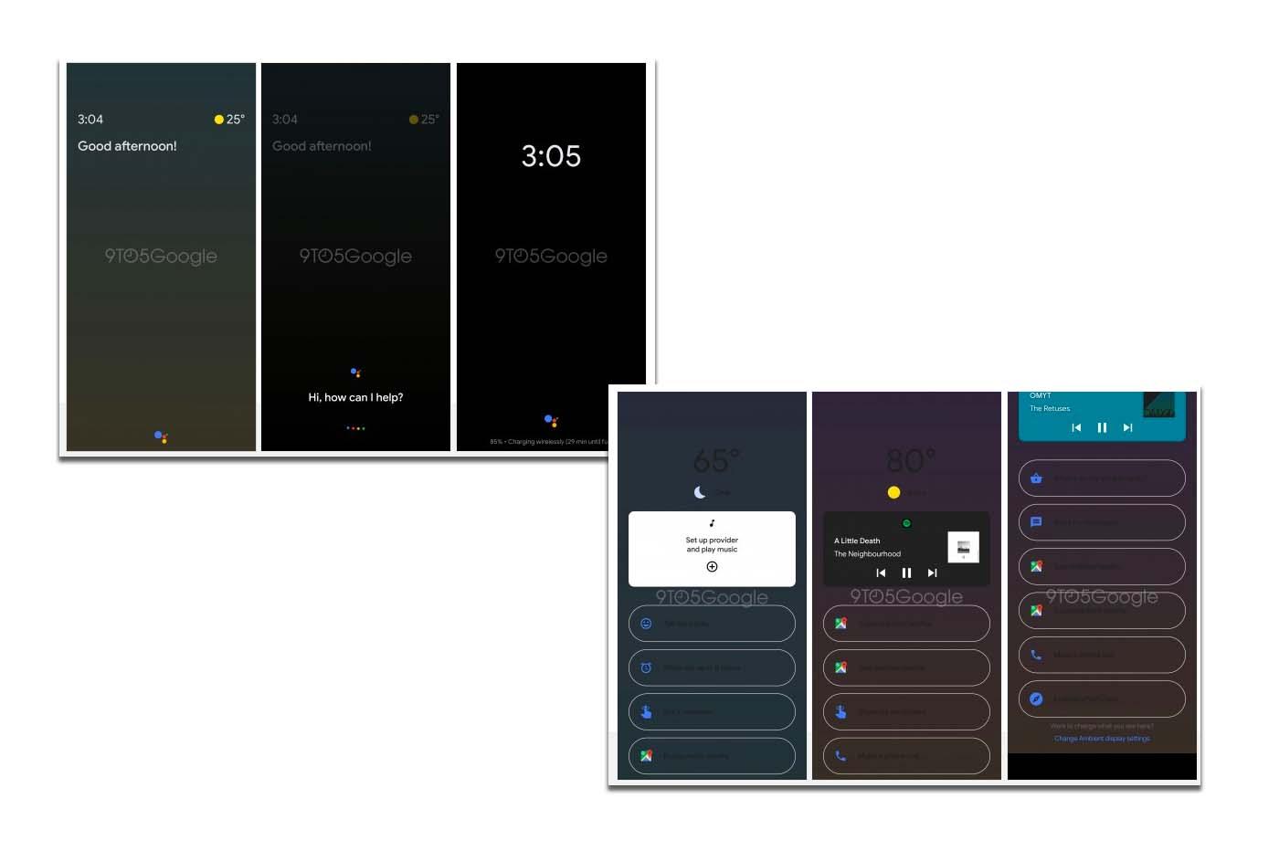 Google Assistant Ambient