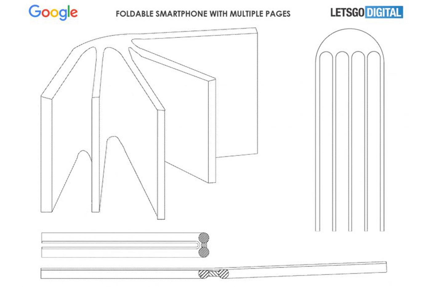 Samsung dépose un brevet pour un smartphone à écran enroulable