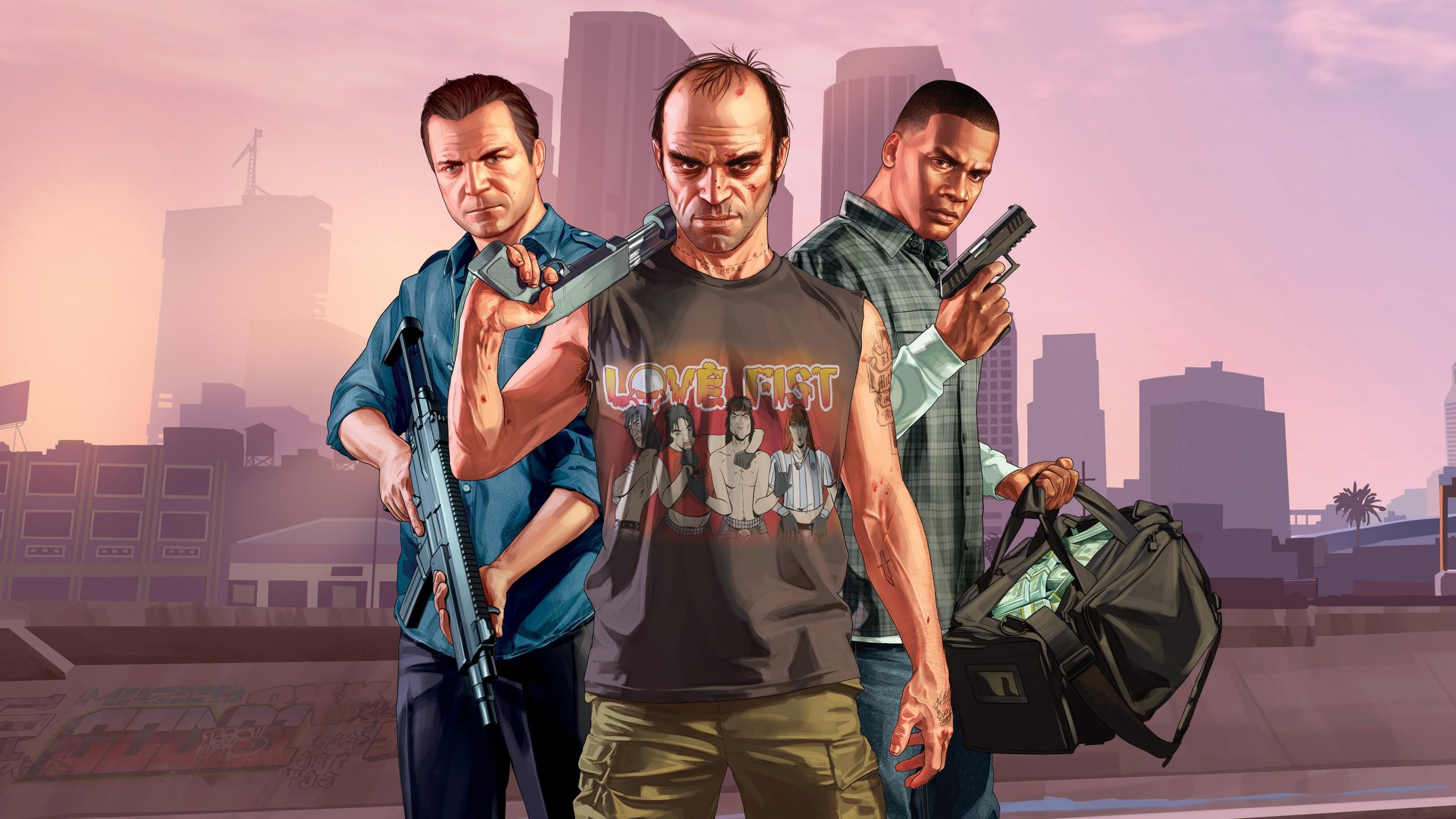 GTA V braque les PlayStation