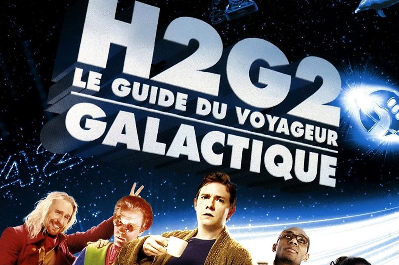 H2G2 Guide Voyageur Galactique Série