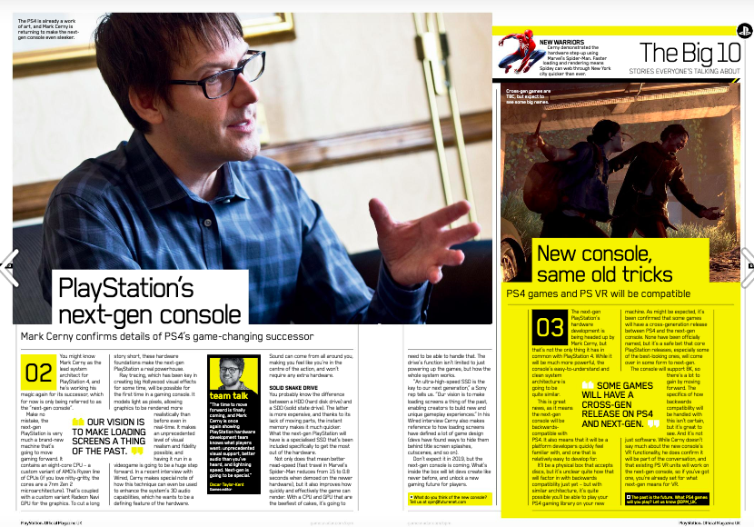 Interview PlayStation UK 162