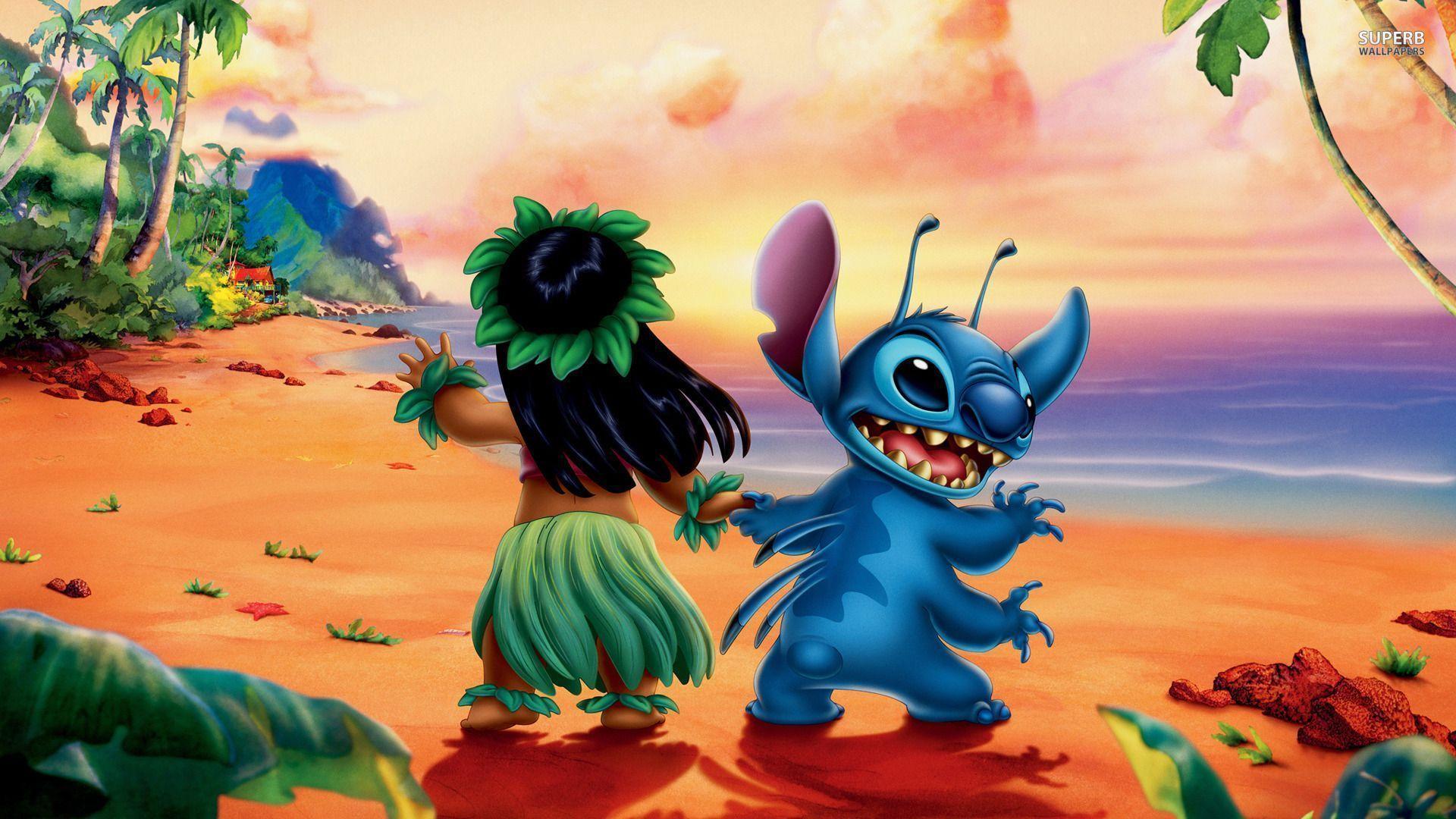 Wallpaper Lilo & Stitch