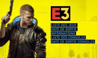 E3 2019 Liste date de sortie jeux et consoles