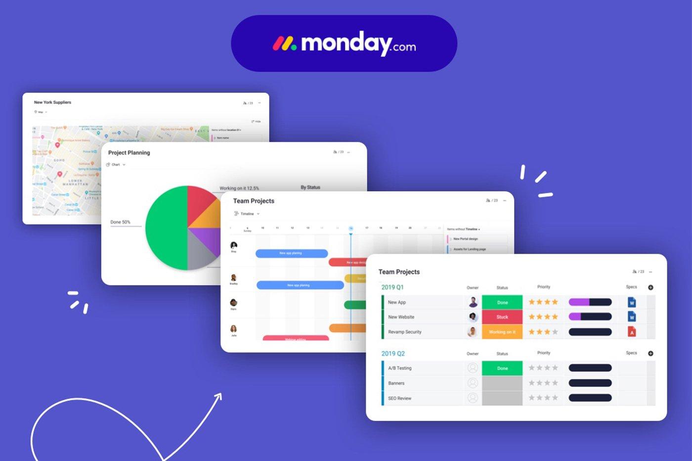 La startup Monday.com lève 150 millions de dollars et atteint les 1,9 milliard de valorisation