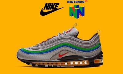 Nike lance les sneakers Nintendo 64