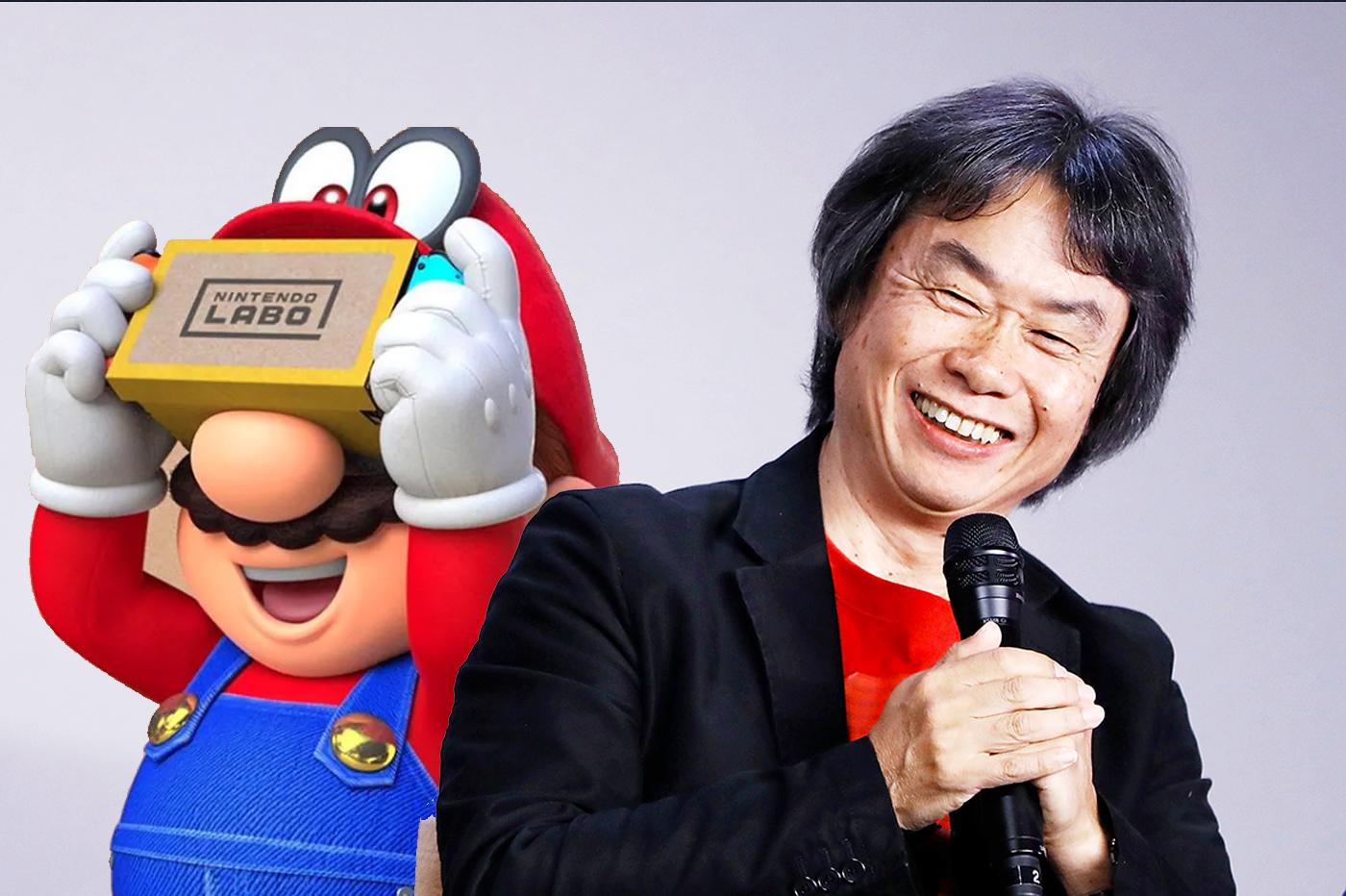 Nintendo pas en retard sur la réalité virtuelle selon Miyamoto