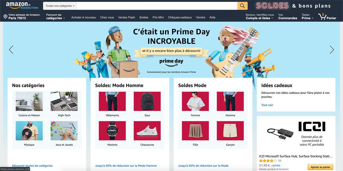 Amazon Prime Day Soldes