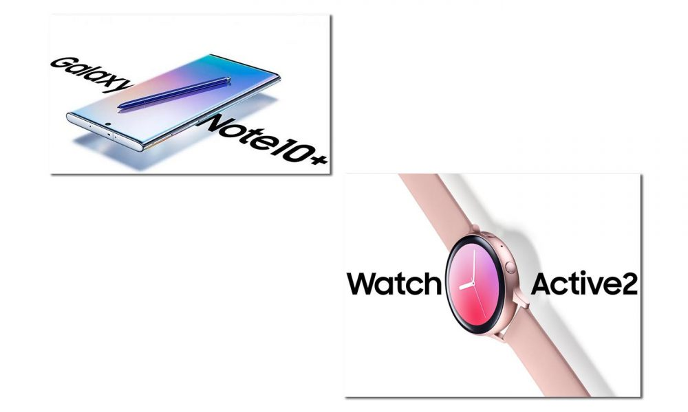 Samsung Galaxy Note 10+ Watch Active 2