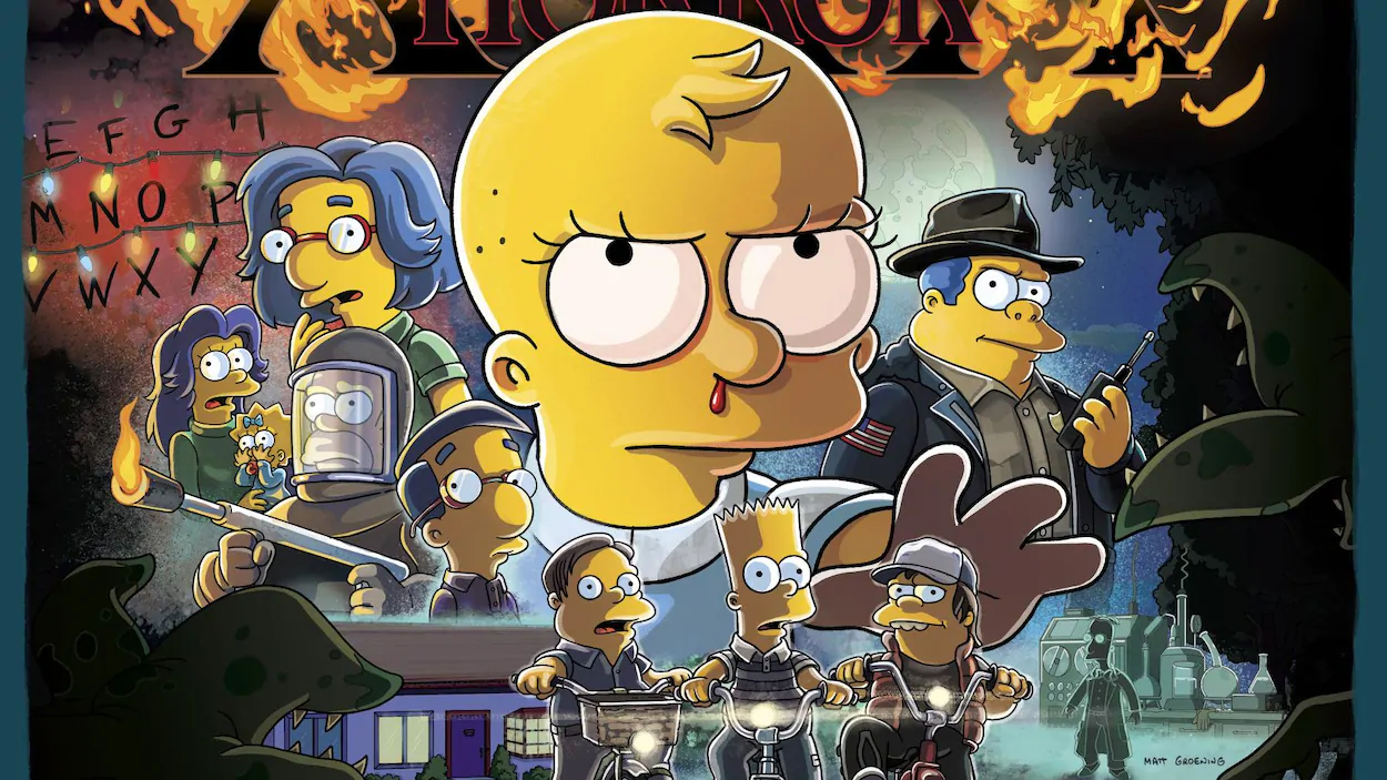 Les Simpson Stranger Things