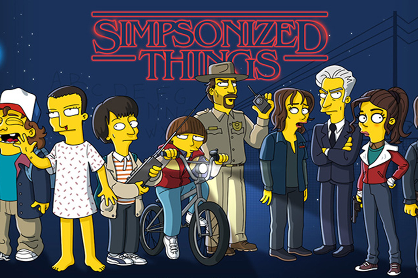 Simpson Stranger Things