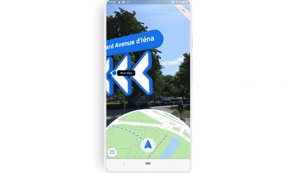 La réalité augmentée sur Google Maps
