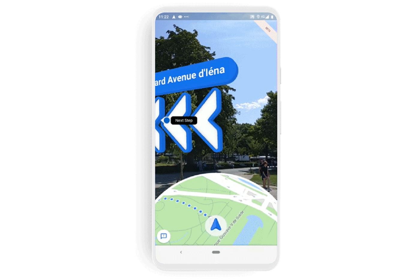 Google Maps : les fonctionnalités AR pour les piétons débarquent sur Android et iOS