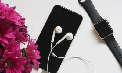 Musique, iPhone, Apple Watch, écouteur, lightning