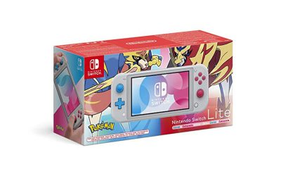 Nintendo Switch Lite Edition Pokemon Epee et Bouclier
