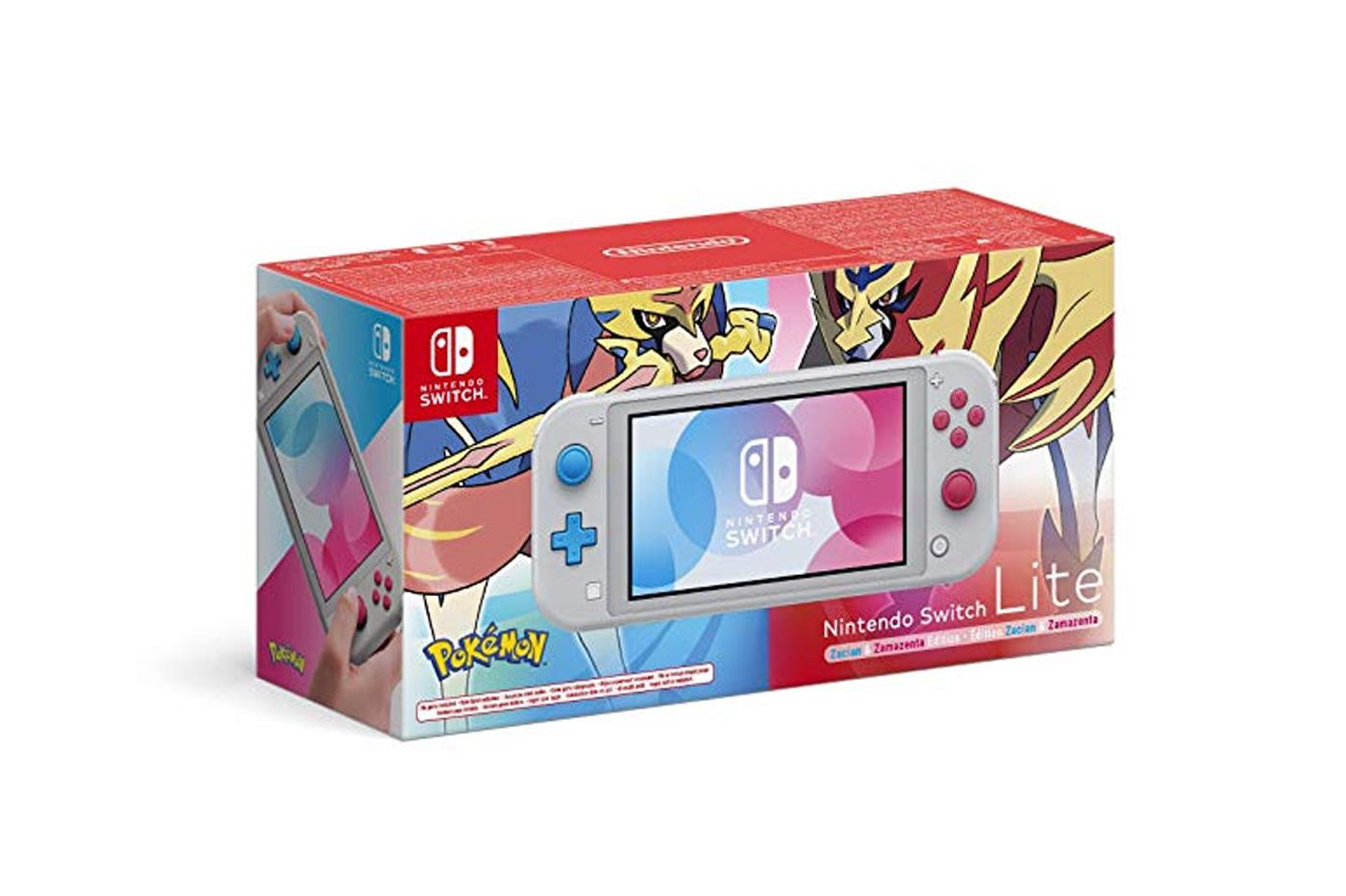 Nintendo Switch Lite Edition Pokemon Epee et Bouclier