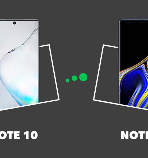 Samsung Note 10 vs Note 9