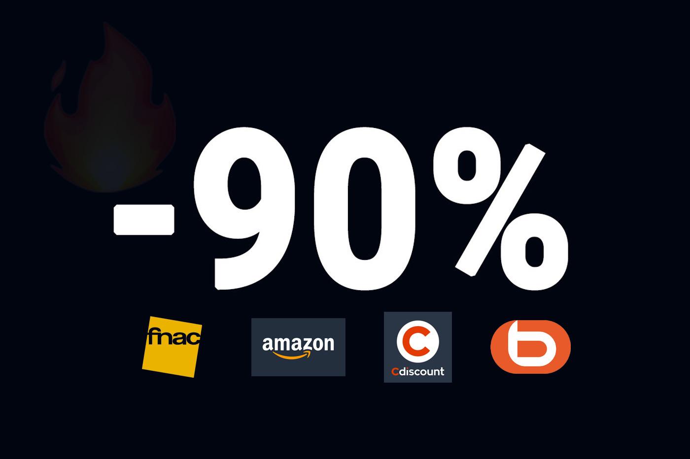 Soldes Amazon: TOP 10 des offres éclair pour ce mercredi 🔥