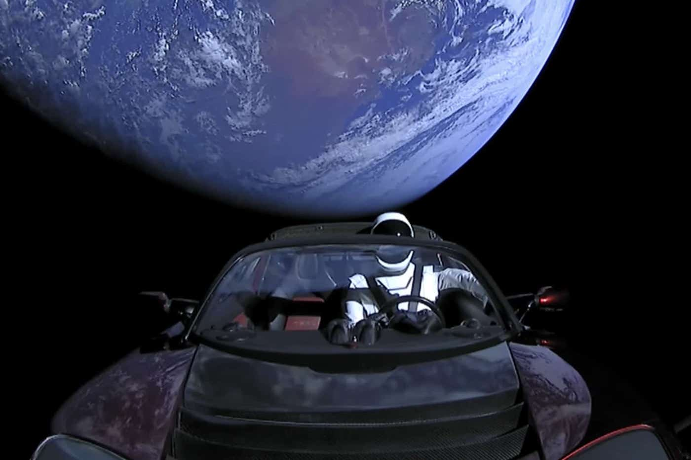SpaceX pourrait envoyer un engin en direction de Starman