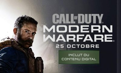 Précommande Call of Duty Modern Warfare