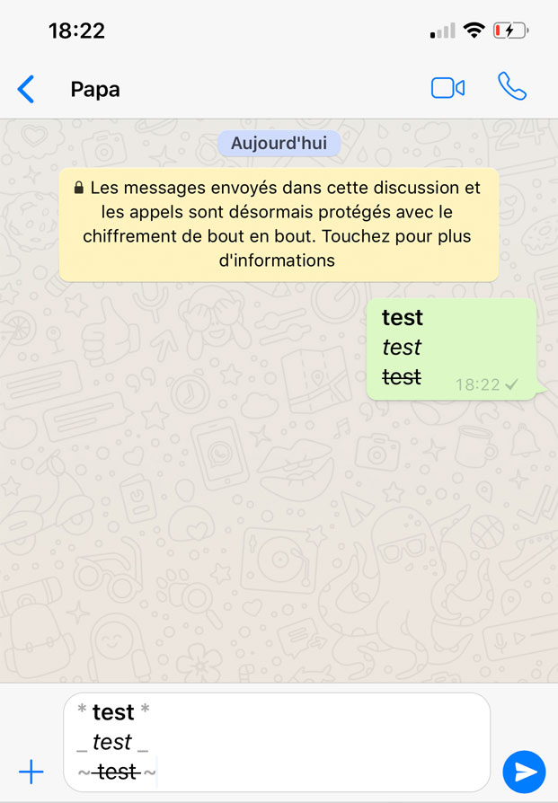 Secret Whatsapp