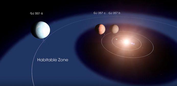 GJ 357d exoplanete