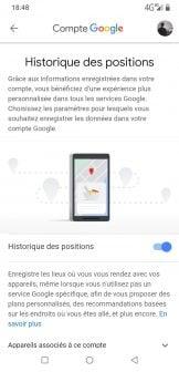 Google Maps historique