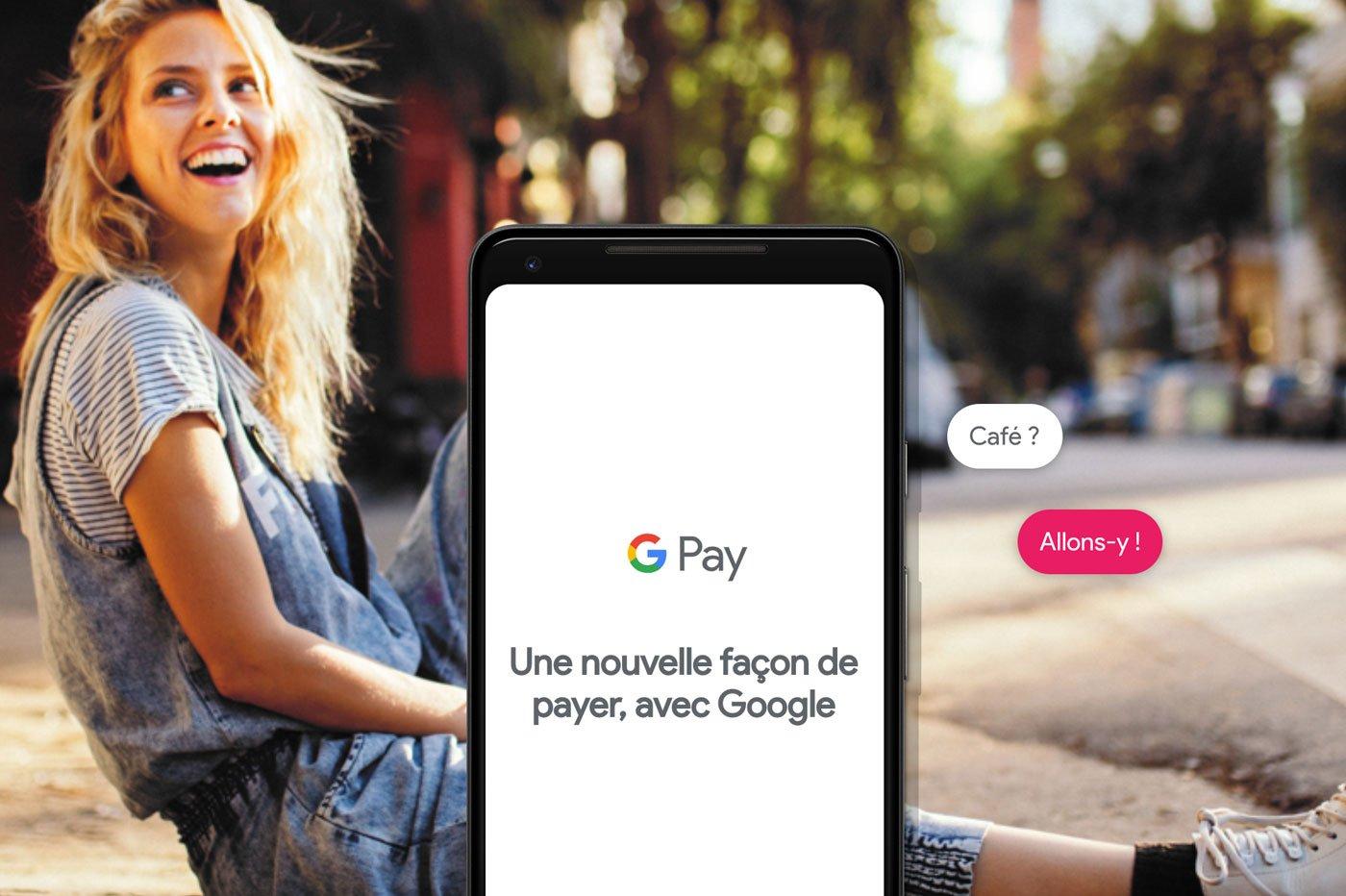 Google Pay banque en ligne