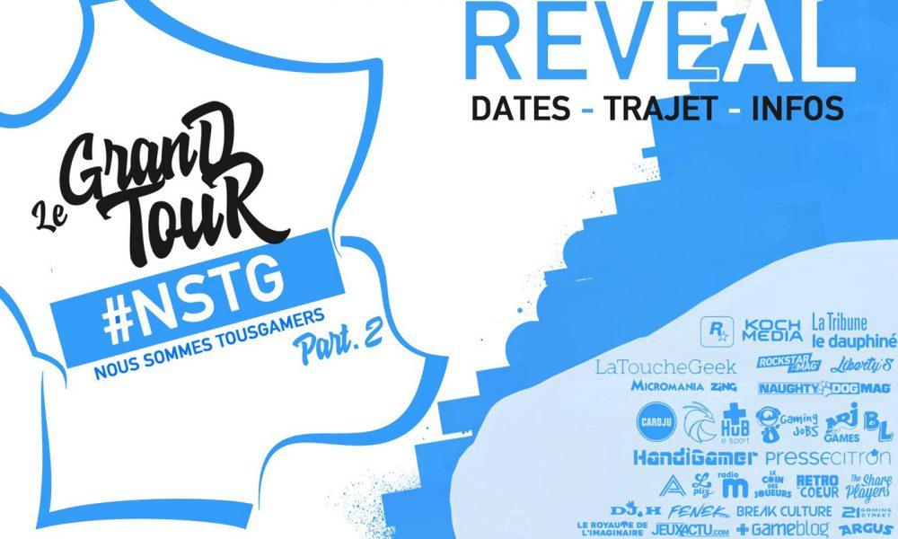 Grand Tour #NSTG Part.2 #TousGamers