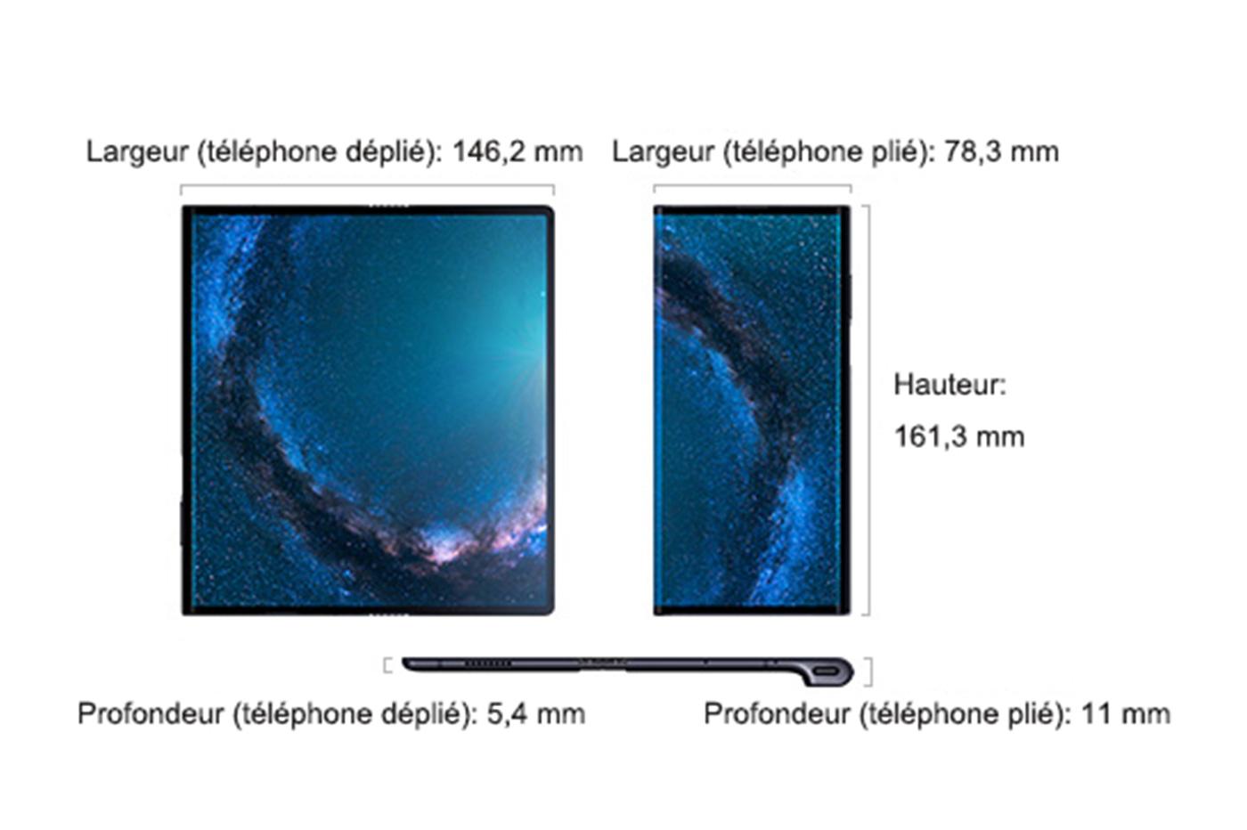 Une sortie fin octobre — Huawei Mate X