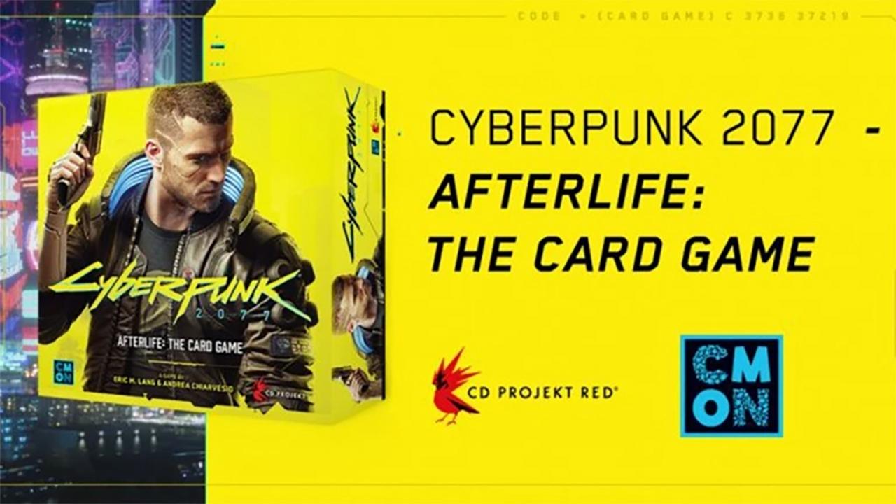 Jeu de cartes CyberPunk 2077 Afterlife