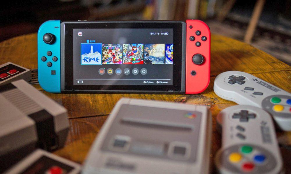Manette Super NES Sans Fil pour Nintendo Switch