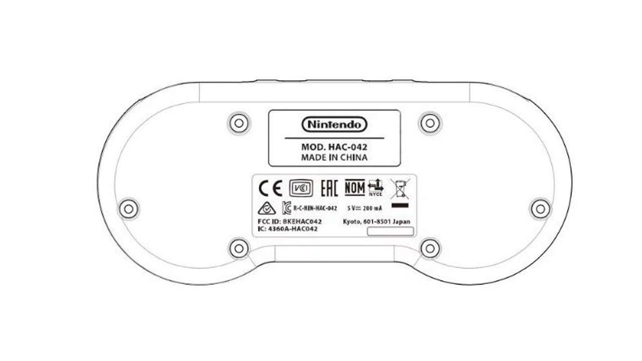 Manette Super NES sans fil