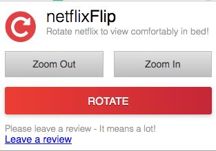 Netflix Flip fonctionnalités