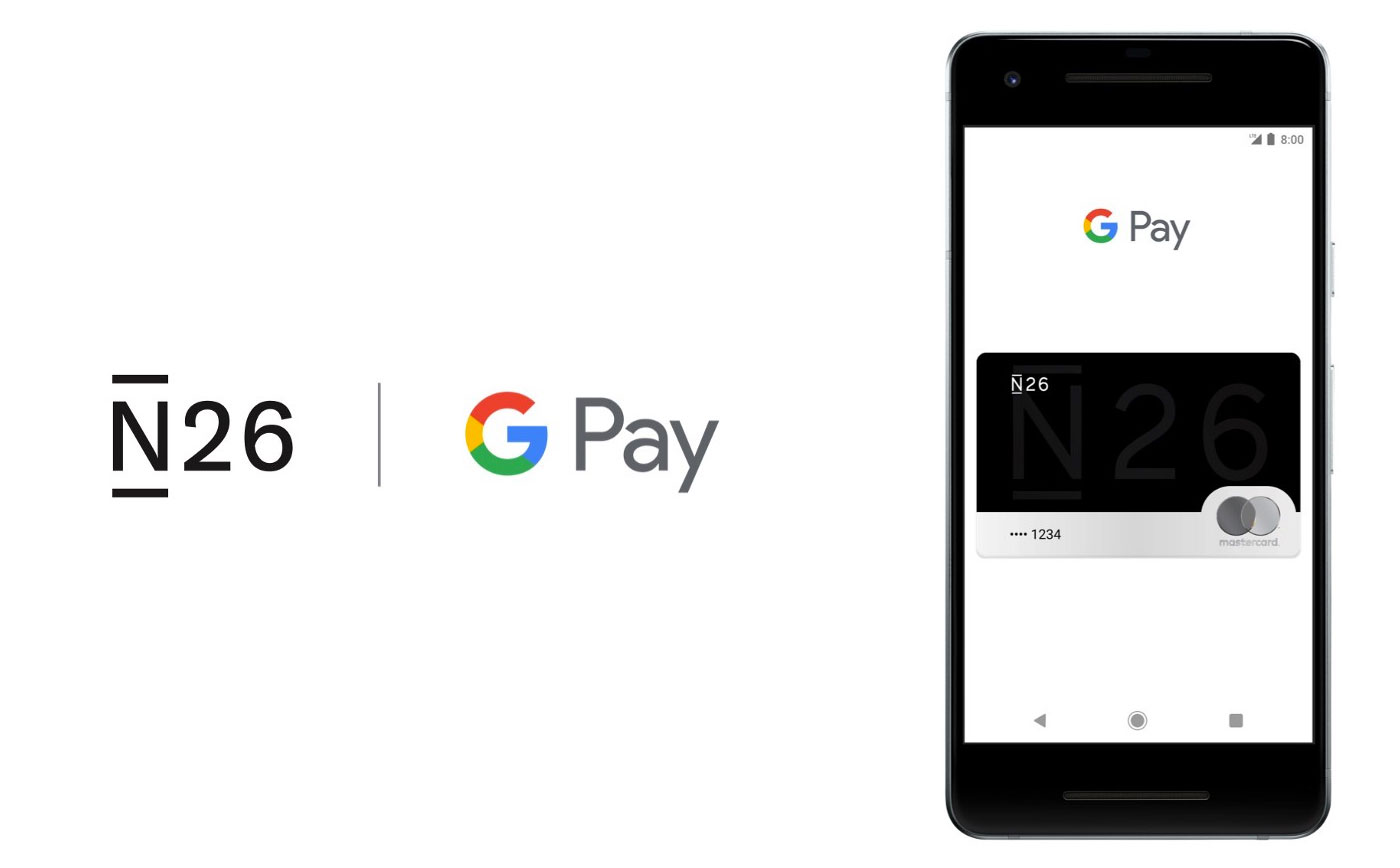 N26 Apple Pay Google Pay