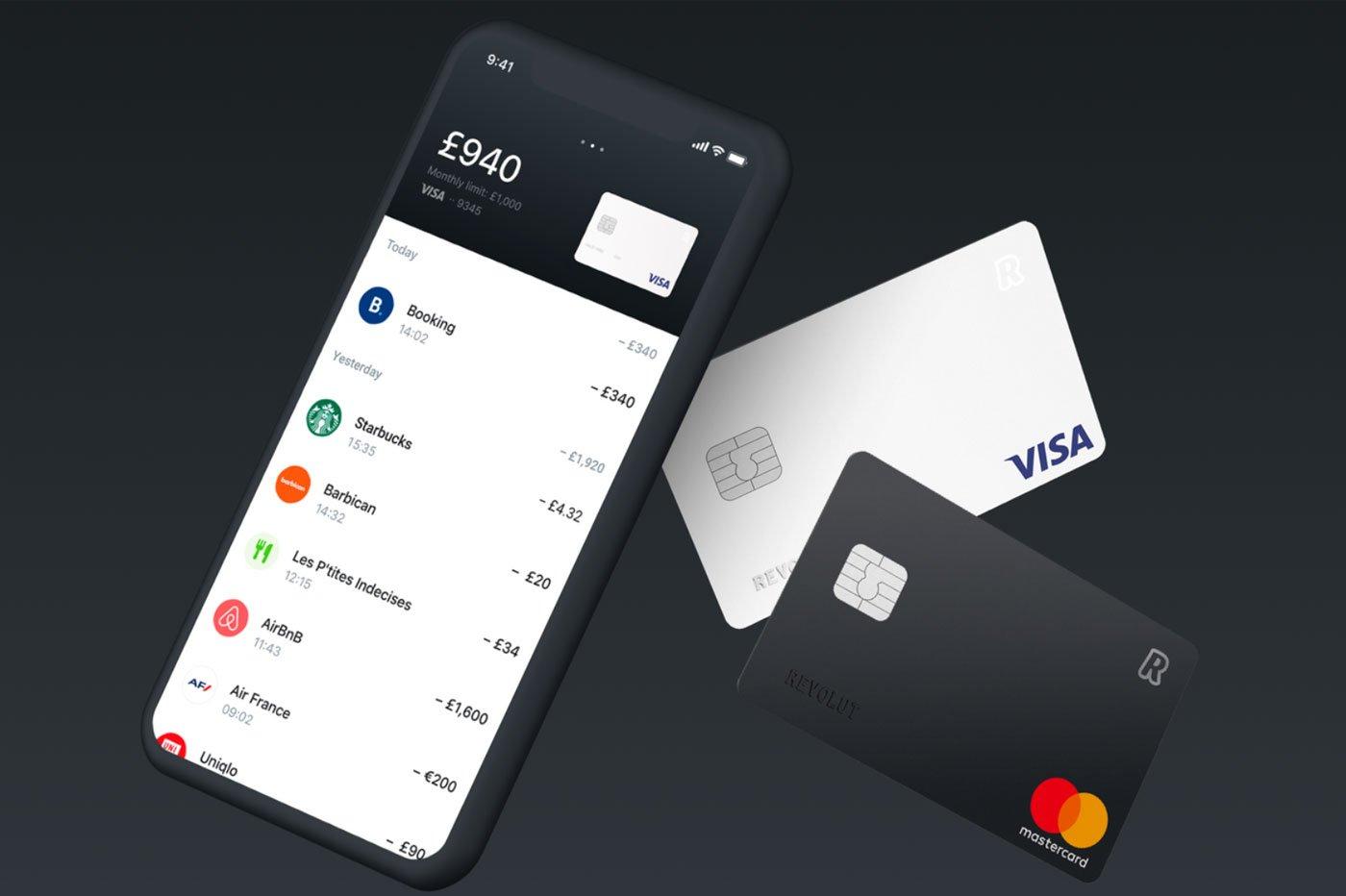 Banque mobile Revolut